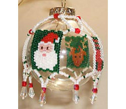 Christmas Motifs Tree Ornament