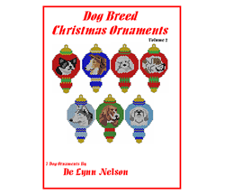Dog Breed Christmas Ornaments Volume 2