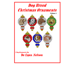Dog Breed Christmas Ornaments Volume 3