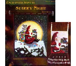 Enchanted Santas- Starry Night