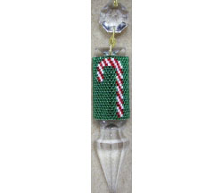 Candy Cane Crystal Cover