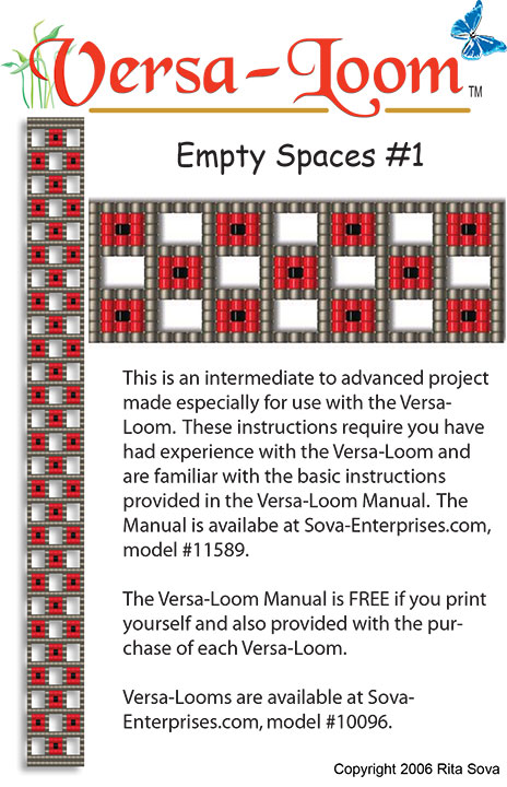 Empty Spaces # 1 (Versa-Loom)