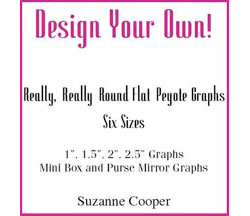 DESIGN YOUR OWN! Graphs for Really, Really, Round Flat Peyote