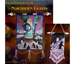 Enchanted Santas-Northern Lights