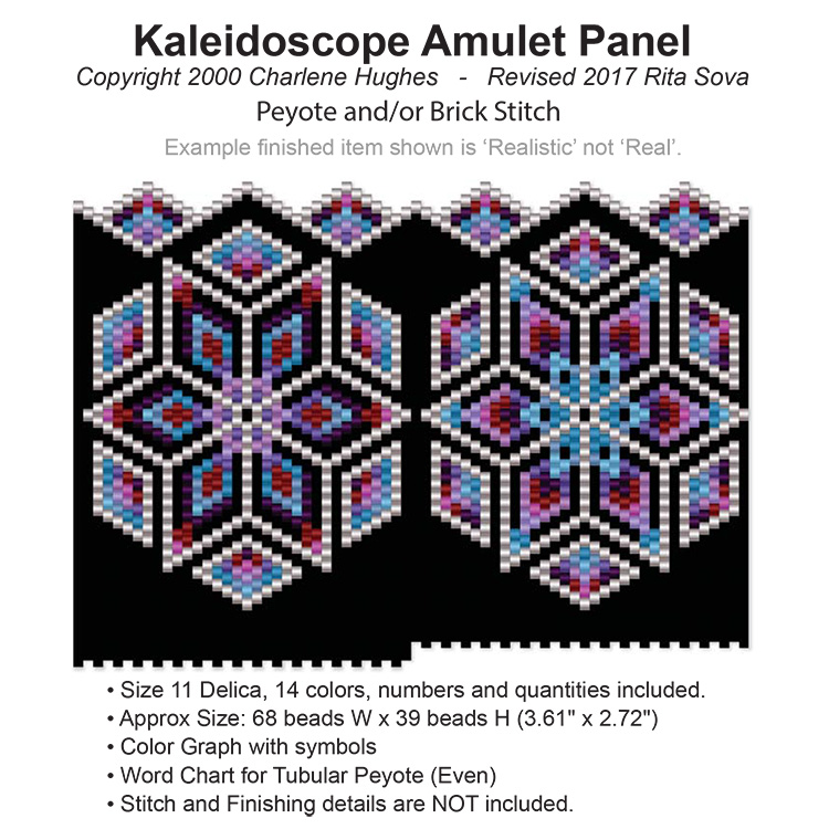 Kaleidoscope Amulet Panel