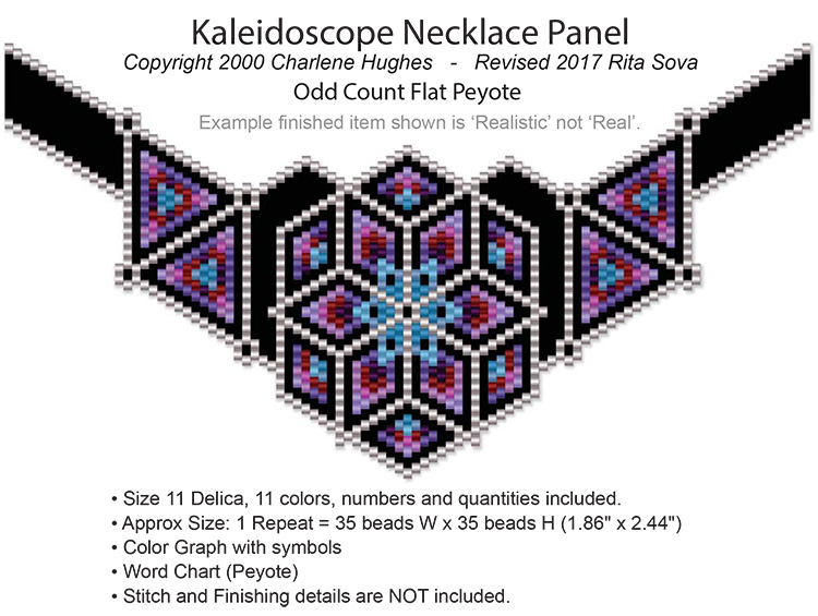 Kaleidoscope Necklace Panel