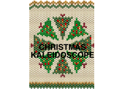 CHRISTMAS KALEIDOSCOPE AMULET PURSE OR NECKLACE