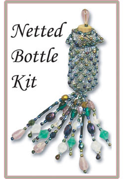 Netted Bottle Kit (Blue Iris)