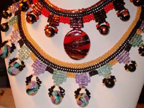 Inca Princess Spring and Winter necklaces