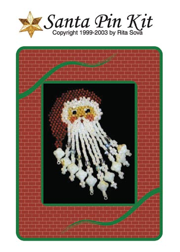 Santa Pin Booklet or Kit