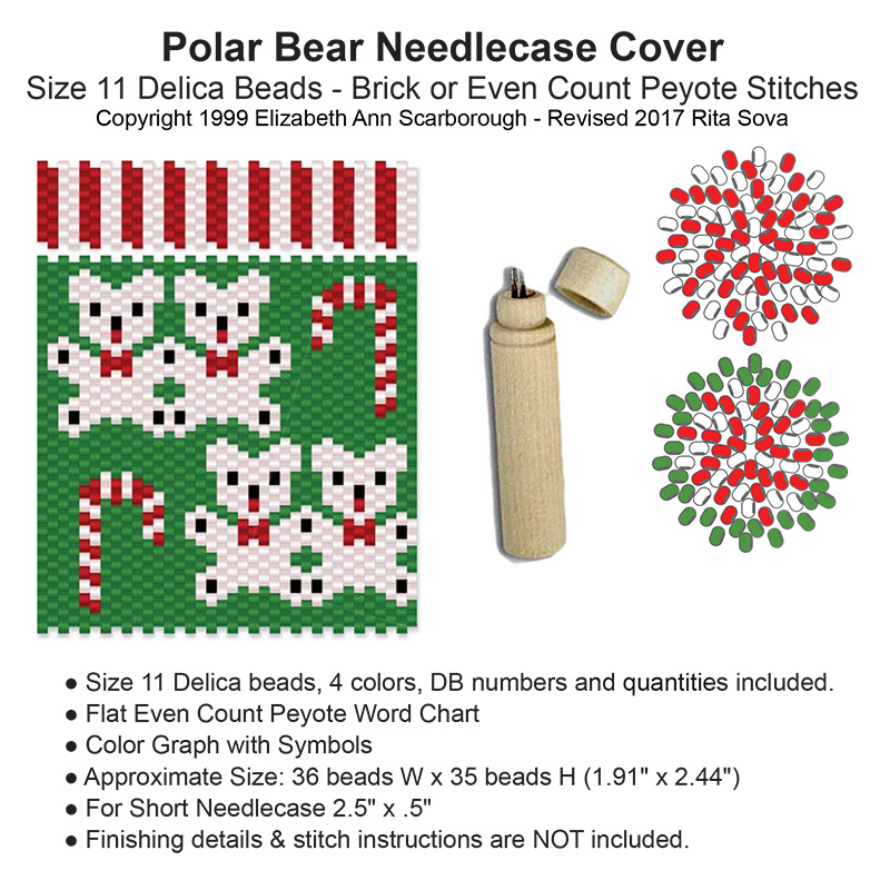 Polar Bear Needlecase Cover