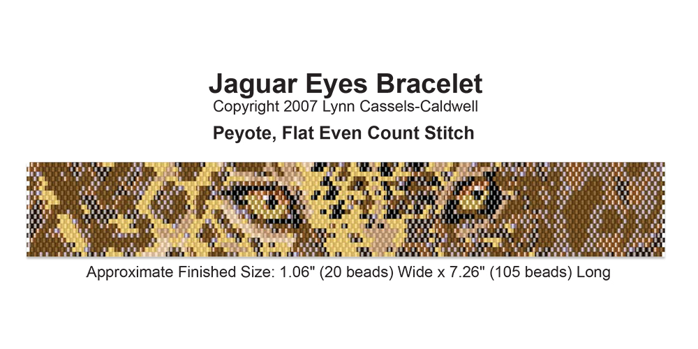 Jaguar Eyes Bracelet