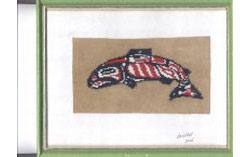 Coho Salmon Tapestry