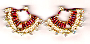 Festive Shawl Earrings