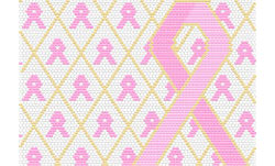 Breast Cancer Awareness Amulet Word Map & Chart