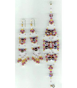 Exotica Earrings and Bracelet Set