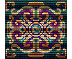 Celtic Spiral Tapestry