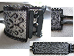 Midnight Lace Cuff