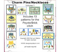 Charms Pins/Necklaces Vol. 1 (E-Book)