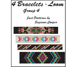 4 BRACELETS - LOOM Group 4 E-Book