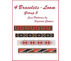4 BRACELETS - LOOM Group 5 E-Book