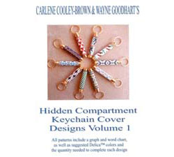 Hidden Compartment Key Chain Cover Designs, Volume 1