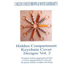 Hidden Compartment Key Chain Cover Designs, Volume 2