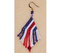 Stars & Stripes Earrings
