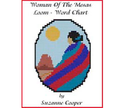 WOMAN OF THE MESAS - LOOM - WORD CHART