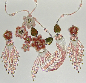 Garden of Dreams Necklace and Earrings Set