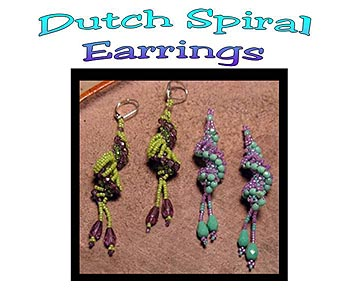 Dutch Spiral Earrings