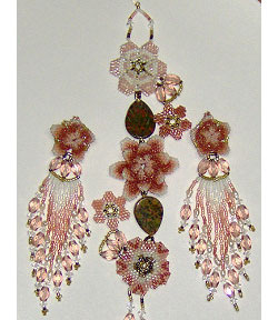 Garden of Dreams Bracelet and Earrings Set