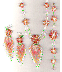 Beaded Irish Rose Full Set