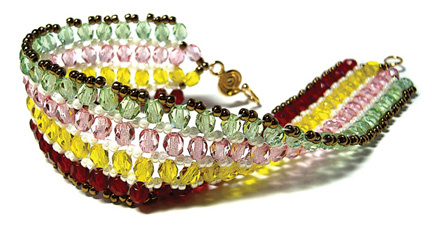 Ribbon Candy Bracelet