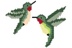 Hummingbird Earring Set
