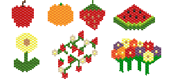 Fruit and Flowers - Sampler