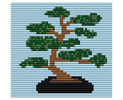 Bonsai Tree - Loom/Square Stitch