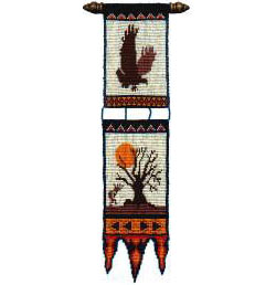 Kokopelli's Country Wall Hanging