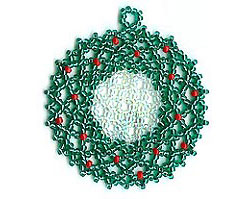Netted Wreath Ornament
