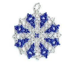 Netted Snowflake Ornament