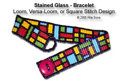 Stained Glass - Bracelet (Versa-Loom)