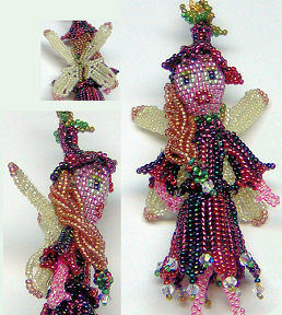 3-D Fairy Ornament