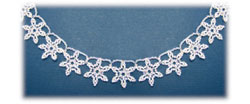 Snowflake Lace Necklace