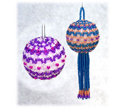 Little Ball Lace Ornament
