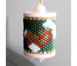 Stocking Spool Ornament