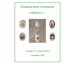 Christmas Spool Ornament Collection 1