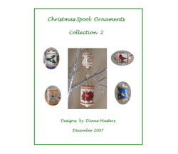 Christmas Spool Ornaments Collection 2