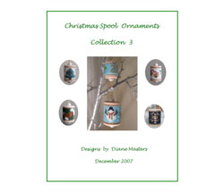 Christmas Spool Ornaments Collection 3