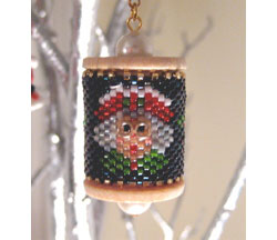 Mrs. Claus Spool Ornament