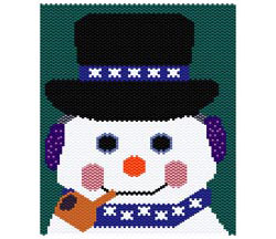 Snowman all dressed up